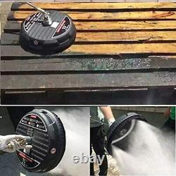 15 Pressure Washer Surface Cleaner with Extension Wand+Gun Quick Connect 4000 PSI