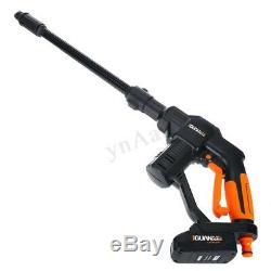 18V Electric Pressure Washer Water Power Gun Hose Spray Cleaner Kit Garden Car