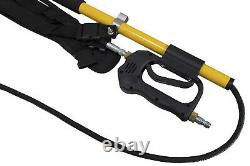 18' Fiberglass Telescoping Wand 3800 PSI for Cold Water Pressure Washer and Belt