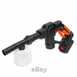 20V Cordless Pressure Cleaner Washer Gun Water Hose Nozzle Kit + Battery/Charger