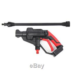 20V Dual Design 320PSI Cordless Portable Pressure Cleaner Car Portable Water Gun