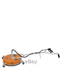 20 Polypropylene Flat Surface Cleaner Hot Cold Water Pressure Washer / Wheels