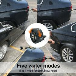 24V Cordless Portable High-Pressure Car Washer Water Pump Kit Jet Wash Cleaner