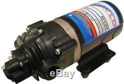 (2)EVERFLO 12 Volt 2.2 GPM Diaphragm Water Pump 70 psi Lawn Sprayers Boats RV's
