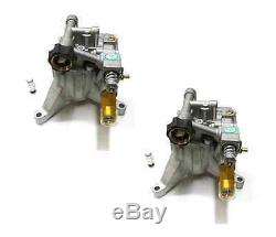 (2) New VERTICAL PRESSURE WASHER Water PUMPS 2800psi 2.3gpm 308653025 308653045