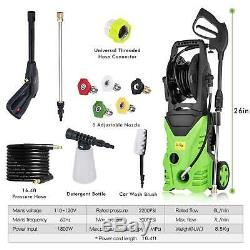 3000PSI 1.8GPM Electric Pressure Washer Cold Water Cleaner AutoJet Machine Kit D