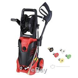 3000PSI 1.9GPM Electric Pressure Washer Water Cleaner Power Sprayer Kit 2200W