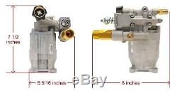 3000 PSI, Horizontal Power Pressure Washer Water Pump for Honda Engine Sprayers