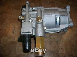 3000 PSI Pressure Washer Water Pump Excell Devilbiss 2203CWH 3/4 Shaft FREE KEY