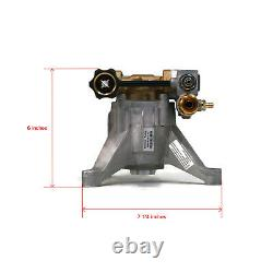 3100 PSI Upgraded POWER PRESSURE WASHER WATER PUMP Homelite UT80709 UT80709A