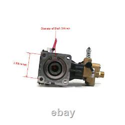 3600 PSI Pressure Washer Pump 2.5 GPM, 6.5 HP for Comet 6501.0065.00, 6501006500