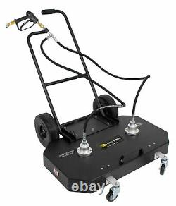 36 Flat Surface Cleaner Hot Cold Water Power Pressure Washer Concrete Driveway
