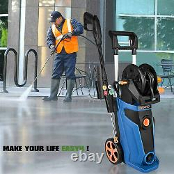 3800PSI 2.8GPM Electric Pressure Washer High Power Cold Water Cleaner Machine