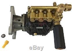 4000 PSI Pressure Washer Water Pump 1 Horizontal Shaft Honda GX270 GX340 GX390