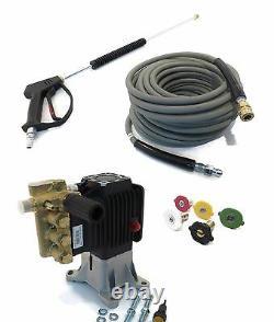 4000 psi AR POWER WASHER PUMP & SPRAY KIT RSV 4G40 EZ Annovi Reverberi 1 Shaft