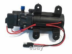 (4) EVERFLO 12 Volt 1.0 GPM Diaphragm Water Pumps 40 psi Lawn Sprayers Boats RV