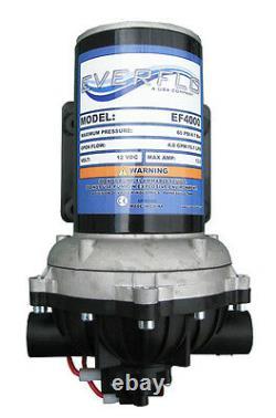 (4) EVERFLO 12 Volt 4.0 GPM Diaphragm Water Pumps 60 psi Lawn Sprayers Boats RV