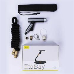 Baseus 25-100 ft Garden Hose High Pressure Car Washer Water Gun Spray Jet Nozzle