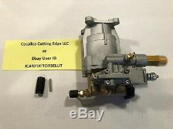 Briggs Generac 1292-0 3000 PSI Pressure Washer Pump 3/4 Shaft Free Shaft Key