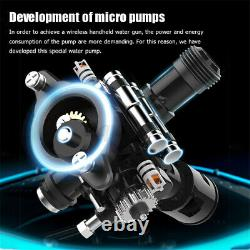 Car Cleaner Spray Gun High Pressure Washer Water Lance Nozzle Wand Set + Battery