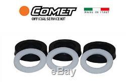 Comet Pump OEM Water Seal Kit 5026.0256.00 for VRX SERIES 2200+ PSI 5026025600