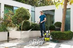 Compact Pressure Washer 1800W Patio Car Cleaner Water Power Jet Detergent Tank