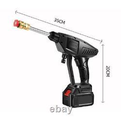 Cordless Car Washer 12V Pressure Water Pump Auto Spray Gun Cleaning Machine Kit