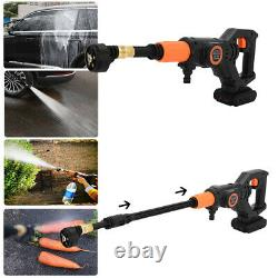 Cordless Pressure Washer Power Cleaner 320PSI Portable with Charger & 3.0A Battery