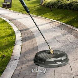 Disc Round Attachment High Pressure Flat Surface Cleaner Power Washer