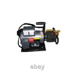 Electric Cold Water Pressure Washer 2.85 Gpm 1000 Psi 2 HP 120v Hand Carry Frame