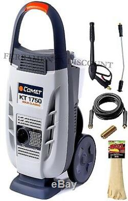 Electric High Pressure Washer Sprayer for car cold water COMET KT 1750 GOLD