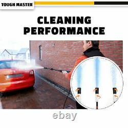 Electric Pressure Washer 2030 PSI/140 BAR Water High Power Jet Wash Patio Car