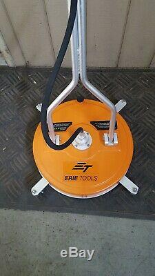 Erie Tools 20 Polypropylene Surface Cleaner Water Recovery Port Pressure Washer