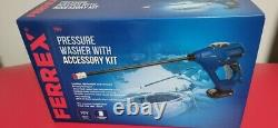 Ferrex 18V Cordless Pressure Washer 320PSI/22BAR Water Flow Rate 120L/h New