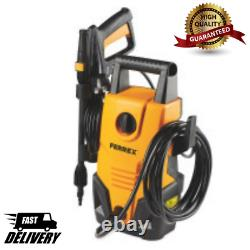 Ferrex Electric Pressure Washer High Power Compact Cleaner Water Control Hose