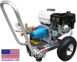 Gas Pressure Washer Cold Water 3300 PSI 2.5 GPM CAT Pump Honda GX