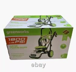 Greenworks 1800-PSI 1.1-GPM Cold Water Electric Pressure Washer GPW1803 PWMA