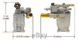 Horizontal Power Pressure Washer Water Pump for Homelite UT80522 & UT80522A Unit