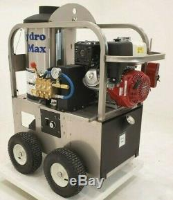 Hot/Cold Water Pressure Washer 4gpm/4000psi-new- Stainless Steel Frame
