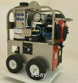 Hot/Cold Water Pressure Washer 5gpm/4000psi-new- Stainless Steel Frame