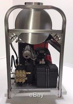 Hot/Cold Water Pressure Washer 8gpm/3200psi-new-SS Frame