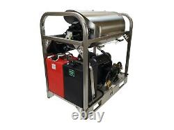 Hot/Cold Water Pressure Washer-8gpm/4000psi-new-SS Frame/Panels