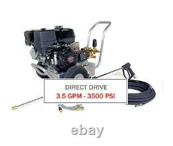 Hotsy 3500 PSI 3.5 GPM Gas Engine Direct Drive (Cold Water Pressure Washer)