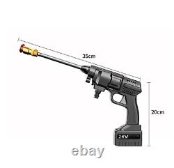 Household high-pressure cleaning water gun, 3 types of water outlet modes