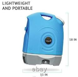 Ivation Multipurpose Portable Spray Washer withWater Tank Built in Rechargeable