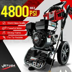 Jet-USA 4800PSI Petrol-Powered High Pressure Cleaner Washer Water Power. Jet Hose