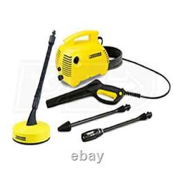 Karcher 1400 PSI (Electric-Cold Water) Pressure Washer with Surface Cleaner