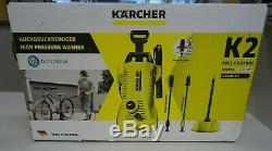 Karcher K2 Full Control Home Pressure Washer 240V + T150 Patio Cleaner