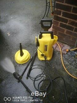 Karcher K2 Full Control Home Pressure Washer 240V + T150 Patio Cleaner