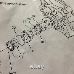 Kranzle Pressure washer Water Pump seal kit k410491 115 135 125TS 145T 160TST